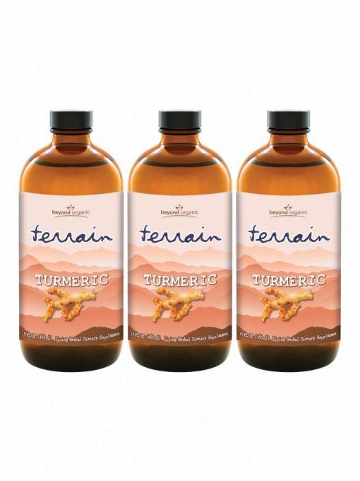 Usby0031 Terrain Turmeric 3pack