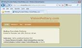 VisionPottery.com-Error Page