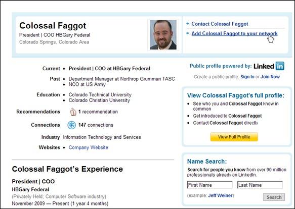 Yaacov Apelbaum - HBGary's Aaron Barr Hacked Linkedin