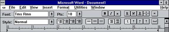 Yaacov Apelbaum - Word 1.0 ribbon
