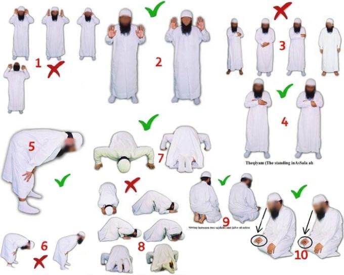 Salafy Prayer Posture-2