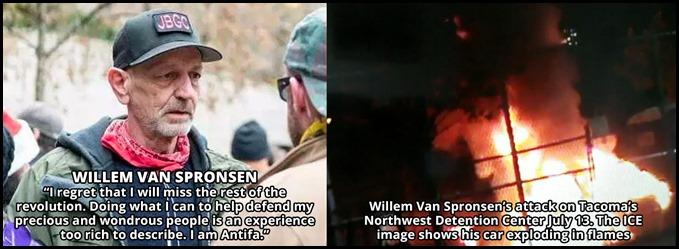 Willem Van Spronsen Antifa