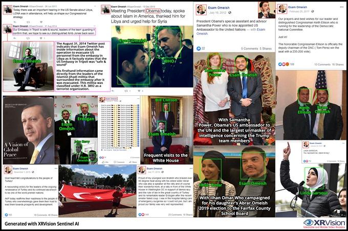 Esam Omeish and Obama
