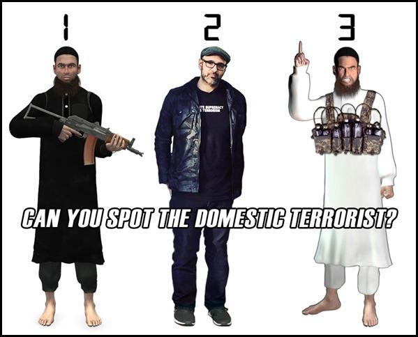 Can You Spot the Domestic Terrorist