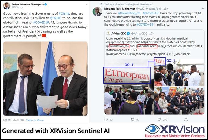 Tedros Adhanom Thank You China