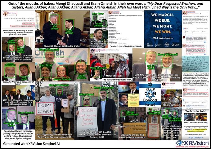 Esam Omeish and Mongi Dhaouadi Muslim Brotherhood Political Operatives