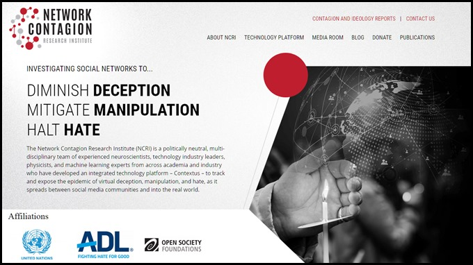 Network Contagion Research Institute (NCRI)