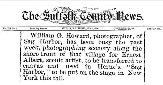 1900 William Howard Photographer