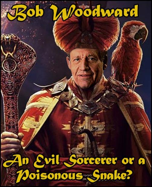 Bob Woodward AKA Jafar
