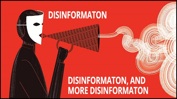 The art of disinformation
