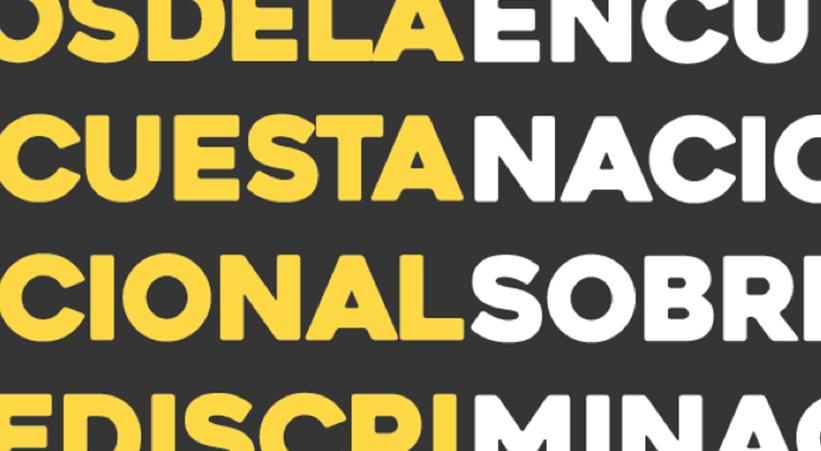 Encuesta Nacional sobre Discriminación y Juventudes LGBTI