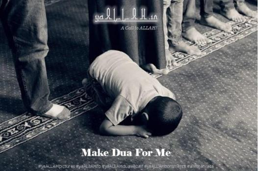 Make dua for me
