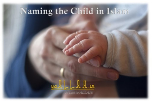 Naming the child in Islam