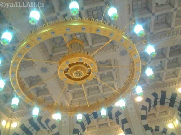 Masjid Nabawi Wallpaper At Night_yaALLAH.in_15