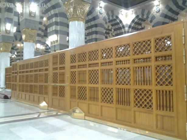 Masjid Nabawi Wallpaper At Night_yaALLAH.in_21