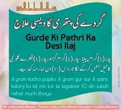 gurde ki pathri ka desi ilaj in urdu