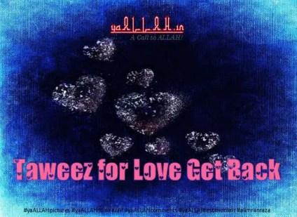 Taweez for Love Get Back