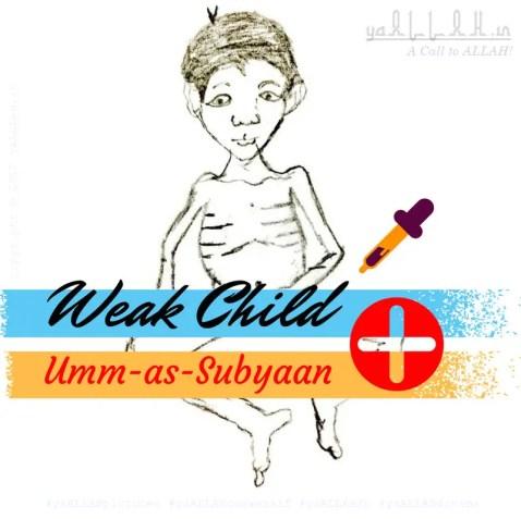 Child weakness-Bachon ke Umm as Subiyaan Qareenah Marz se Shifa