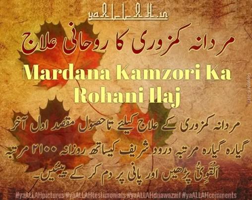 mardana quwwat badhane ka tarika-ki-dua-wazifa-in-urdu