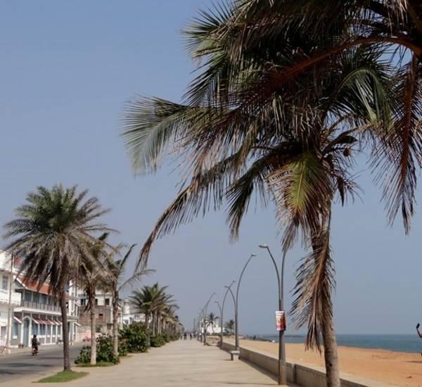 Corniche de Pondichéry
