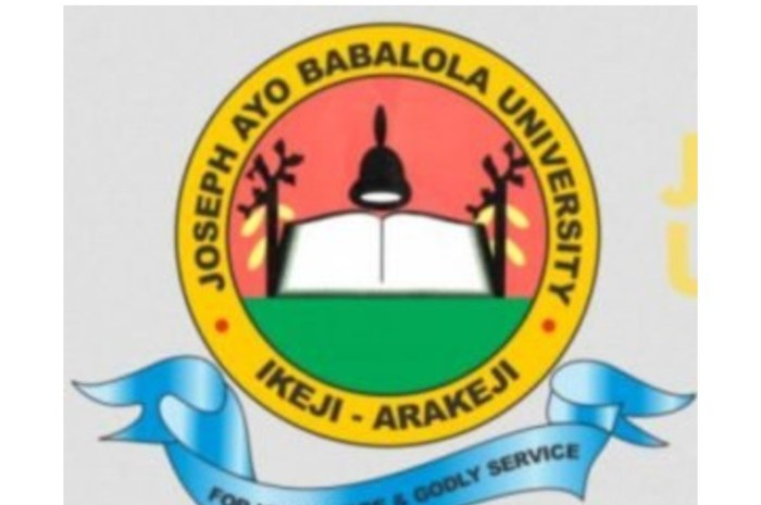 Joseph Ayo Babalola University (JABU) Post UTME / Direct Entry Screening Form for 2020/2021 Academic Session Is Out [See How To Apply]