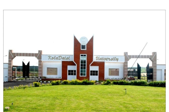 KolaDaisi University JUPEB Admission For 2020/2021 Academic Session