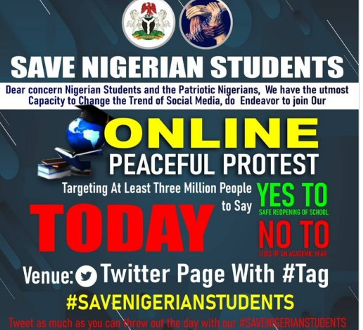 #SAVENIGERIANSTUDENTS