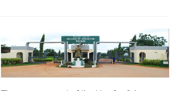 Post COVID-19: Nwafor Orizu College of Education Nsugbe (NOCEN) Resumption Date for 2019/2020 Academic Session