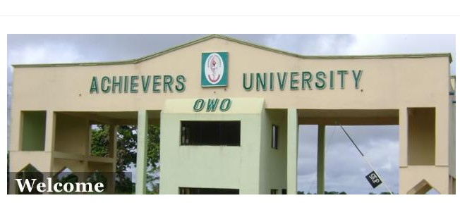 Achievers University Owo (AUO) Postgraduate Admission Form for 2020/2021 Academic Session
