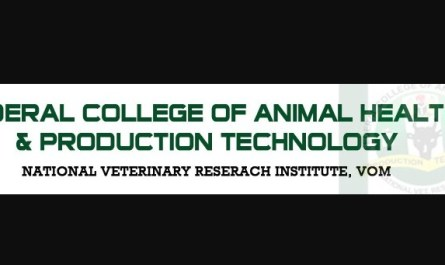 Federal College of Animal Health and Production Technology Vom (FCAHPTVOM)