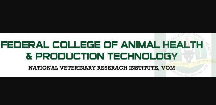 Federal College of Animal Health and Production Technology Vom (FCAHPTVOM) Admission Form for 2020/2021 Session [Remedial, ND and HND]