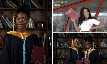 Nigerian, Ogechukwu Ozoani Graduates With 5.0 GPA From Russian University