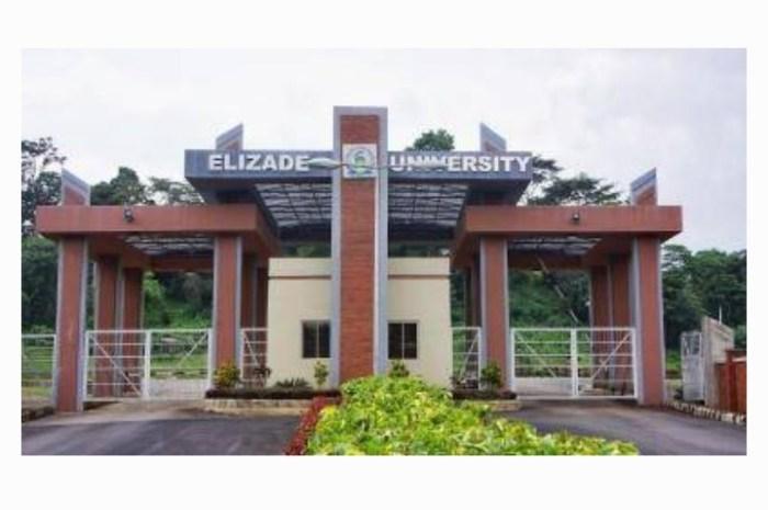 Elizade University Postgraduate Admission Form for 2020/2021