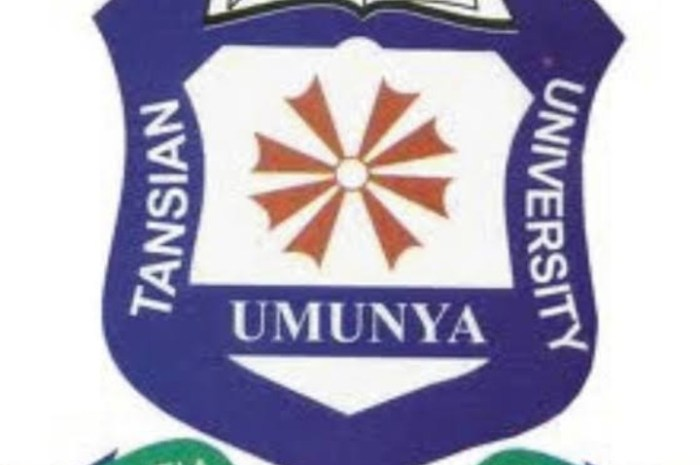 Tansian University (TANU) School Fees Schedule for 2020/2021 Academic Session