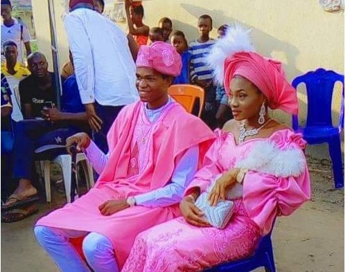 Amidst School Closure, UNN First Year Student Gets Married [Photos]