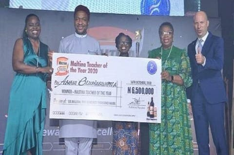 Adamawa Teacher Wins 2020 Maltina Teacher of Year Award, Gets N6.5m