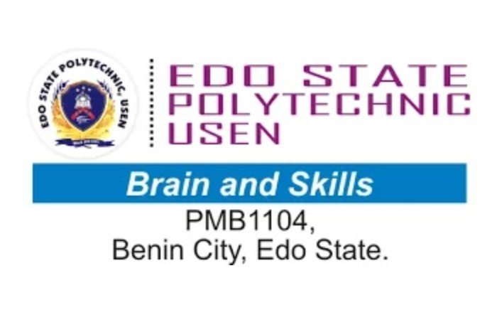 Edo State Poly Post UTME Form 2020/2021 | ND Full-Time