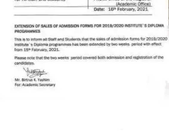 NILEST Extends Sales Of Diploma Admission Form For 2019/2020 Academic Session