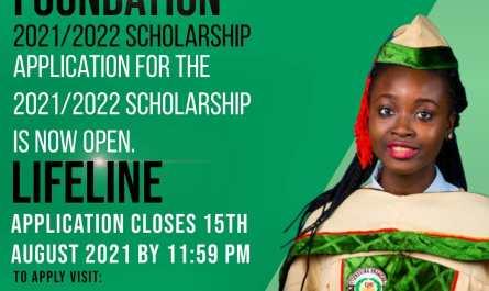 David Oyedepo Foundation Scholarship for 2021/2022