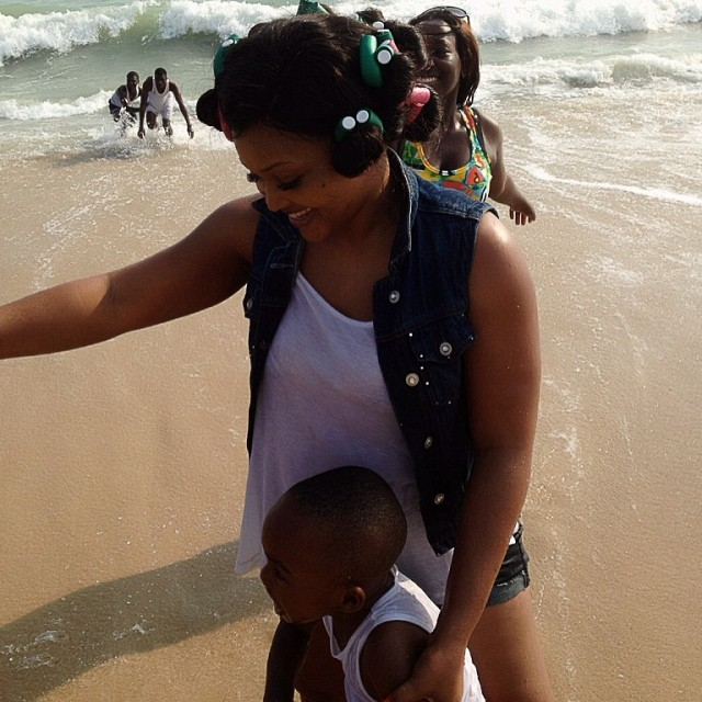 Mercy-Aigbe-At-The-Beach2-YabaLeftOnline