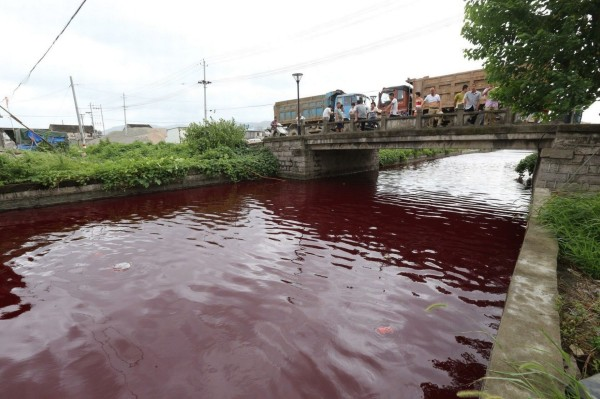 River-in-China-Turns-Red-YabaLeftOnlineBlog-0