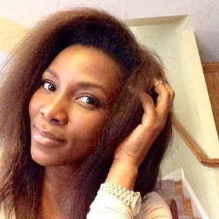 Genevieve Rocking Her Natural Hair