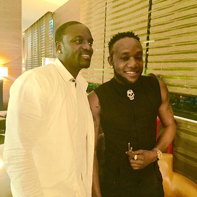 Kcee and Akon 2