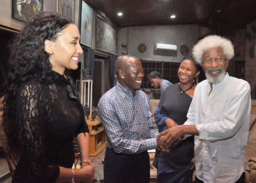 Adams Oshiomole Visit WS
