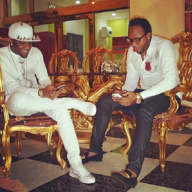 Kcee and Chairman of Five Star Music Group - E Money