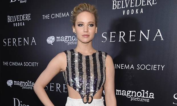 Jennifer Lawrence earned an estimated $52m in the past 12 months. Photo By: Jamie McCarthy/Getty Images