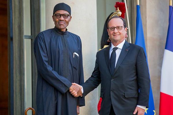 Buhari In France1