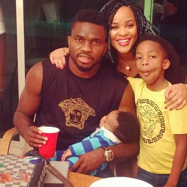 Joseph Yobo Family