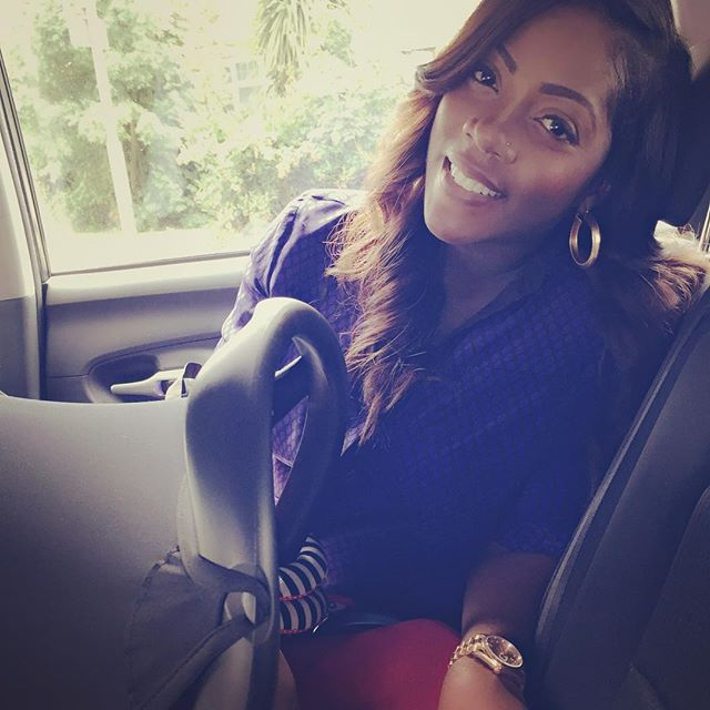 Tiwa Savage Shows Off Two-Months Post Baby Body