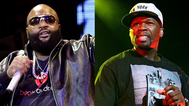 091113-music-career-defining-rap-battles-rick-ross-50-cent